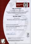 Сертифікат ISO 9001:2000